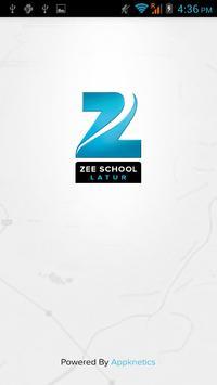 Zee School Latur - BusTracker poster