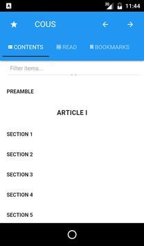 Constitution of United States apk screenshot