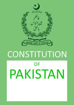 Constitution of Pakistan poster