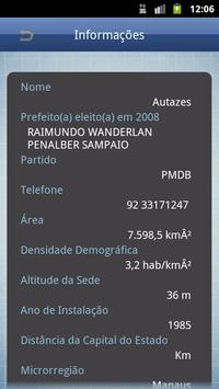 Cities in Brazil apk screenshot