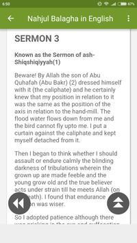 Nahjul Balagha in English apk screenshot
