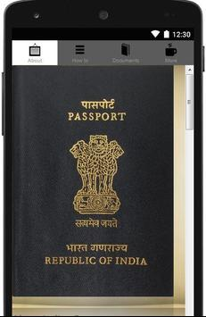 Indian Passport Application poster