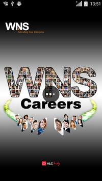 WNS Careers on Mobile poster