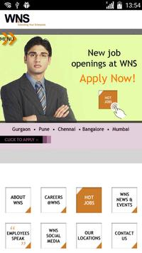 WNS Careers on Mobile apk screenshot