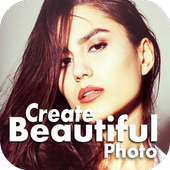 Create Bautiful Photo icon