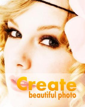 Create Bautiful Photo poster