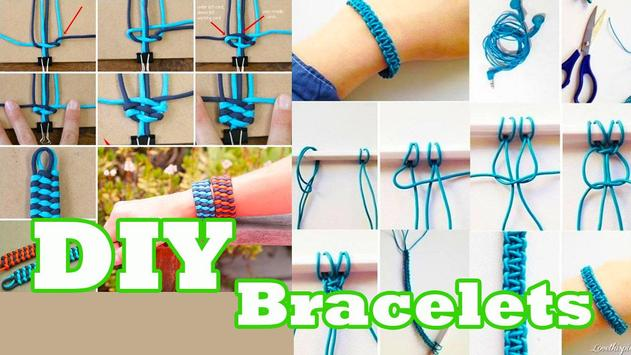 How To Make Bracelets DIY poster