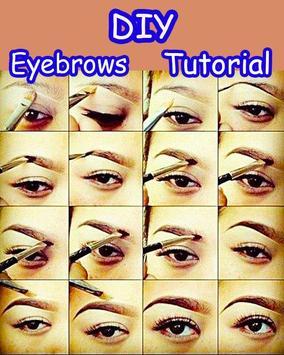Perfect Eyebrows Make Up Tips apk screenshot