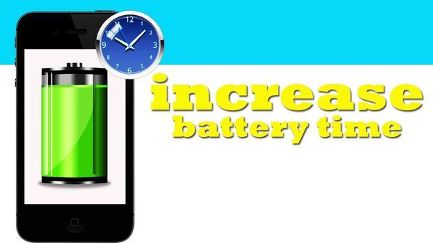 Increase Battery Time apk screenshot