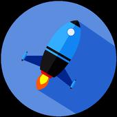 Rocket Messenger 🚀 SecretChat icon
