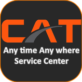 CAT Any Time Any Where Service icon