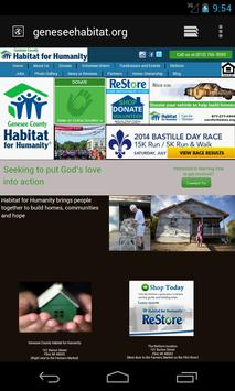 Genesee County Habitat apk screenshot