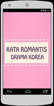 Kata Romantis Drama Korea apk screenshot