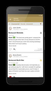 Zomato for Business apk screenshot