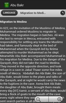Biography of Abu Bakr apk screenshot