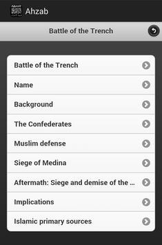 Battle of Ahzab apk screenshot