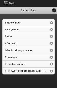 Battle of Badr apk screenshot