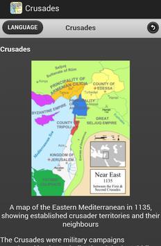 Crusades History apk screenshot