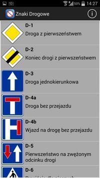 Poznaj znaki drogowe apk screenshot