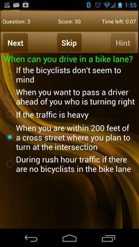 DrivingEdge Car Driver License poster