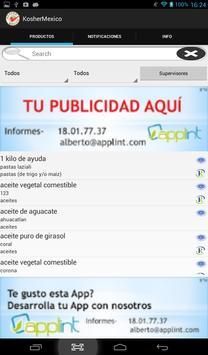 Kosher Mexico apk screenshot
