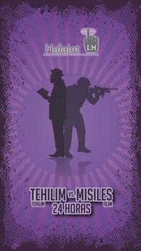 Tehilim vs Misiles poster