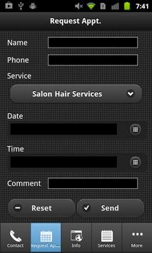 Panache Hair Studio & Day Spa apk screenshot