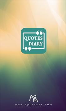 Quotes Diary poster