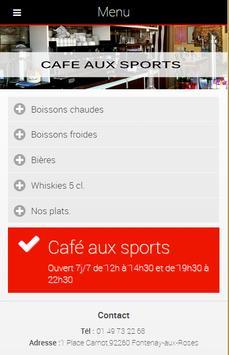 Café Aux Sports apk screenshot