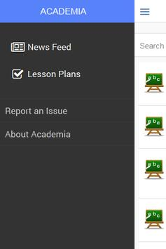Academia - Lesson Plans apk screenshot