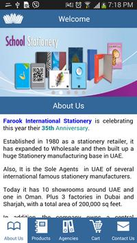 Farook Stationary poster