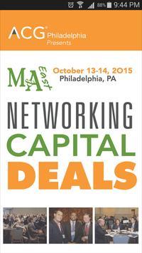M&A East 2015 poster