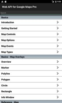 Web API for Google Maps Free poster