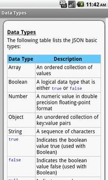 JSON Pro Free apk screenshot