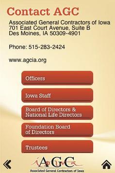 AGC Iowa apk screenshot