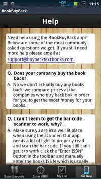 Textbook Buy Back Comparison apk screenshot