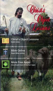 Christ Objects Lessons poster