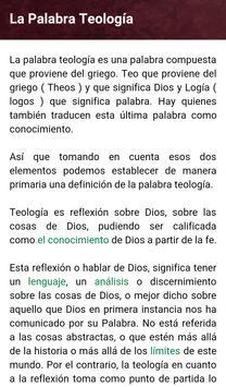 Curso Teología Evangélica poster
