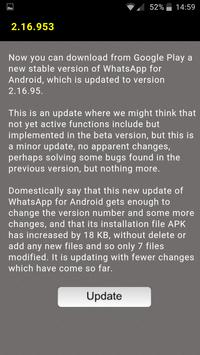 Updates for whatsapp poster