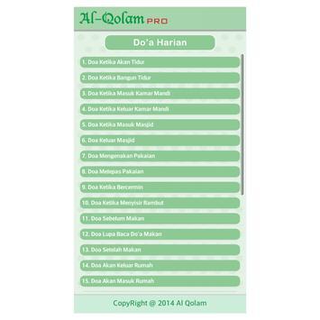 Al-Qolam Pro apk screenshot