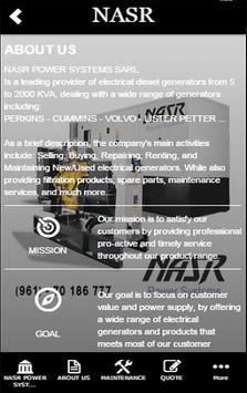 NASR poster