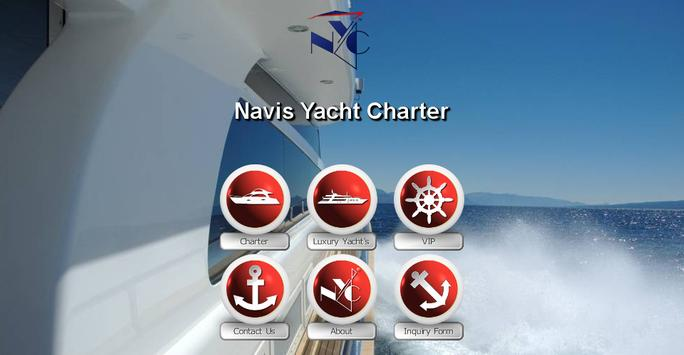 NYC - Navis Yacht Charter apk screenshot