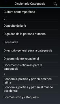 Diccionario de Catequesis apk screenshot