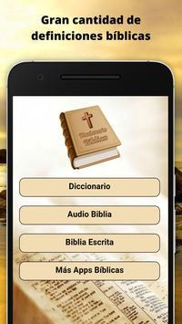 Diccionario Bíblico poster
