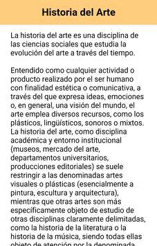 Diccionario Términos de Arte apk screenshot