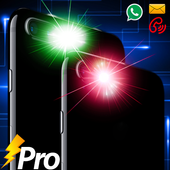 Color Flashlight Call and SMS! icon