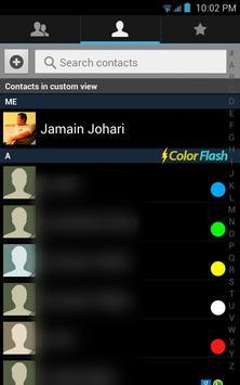 Color Flashlight Call and SMS! apk screenshot