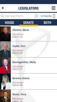 KS Chamber Legislative Guide apk screenshot