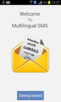 SMS Multilanguages poster