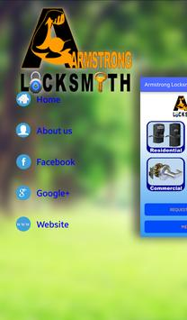 Armstrong Locksmith poster